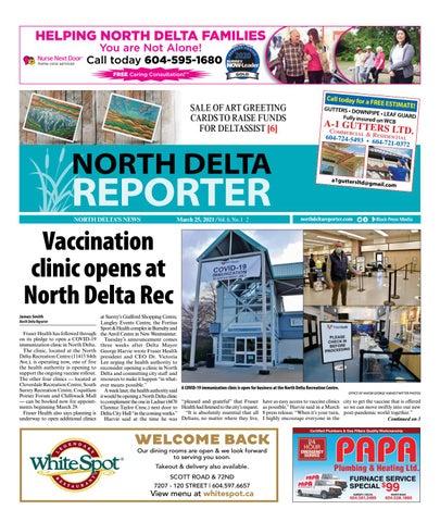 North Delta Reporter, March 25, 2021