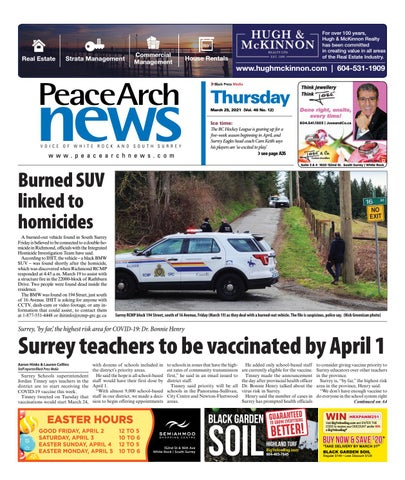 Peace Arch News, March 25, 2021