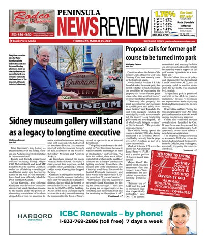 Peninsula News Review, March 25, 2021