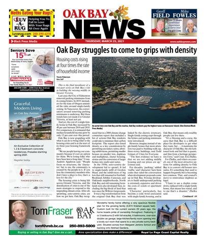 Oak Bay News, March 25, 2021