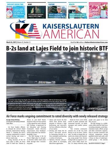 Kaiserslautern American - March 26, 2021