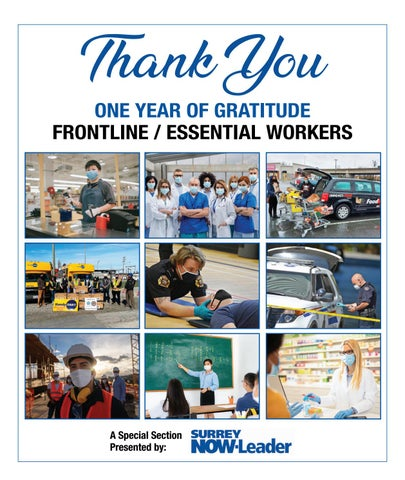 Thank You - One year of gratitude