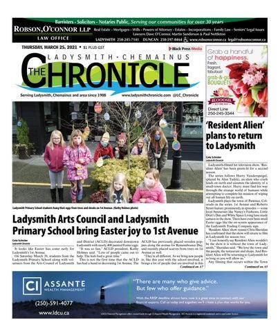 Ladysmith Chronicle, March 25, 2021