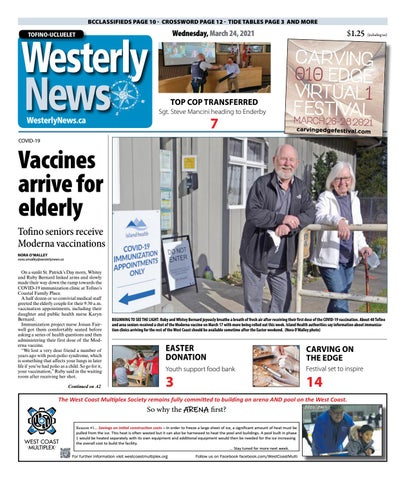 Tofino-Ucluelet Westerly News, March 24, 2021