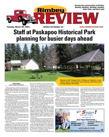 Rimbey Review, March 30, 2021