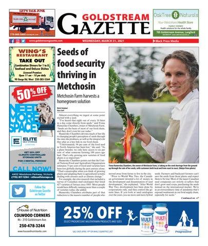 Goldstream News Gazette, March 31, 2021