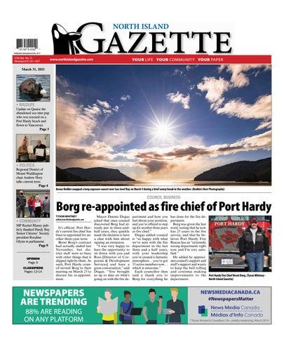 North Island Gazette, March 31, 2021