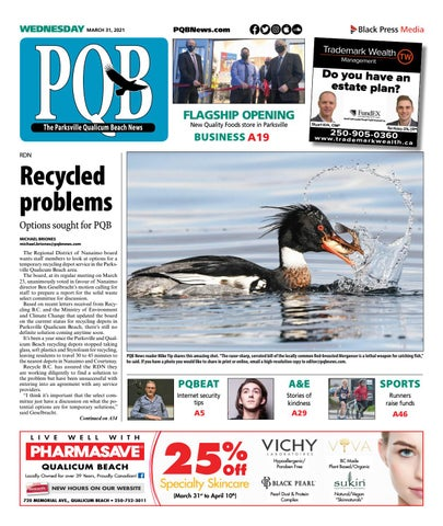 Parksville Qualicum Beach News, March 31, 2021