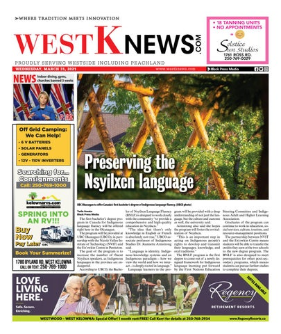 West K News, March 31, 2021