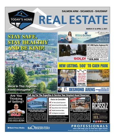 March 31, 2021 Salmon Arm Observer