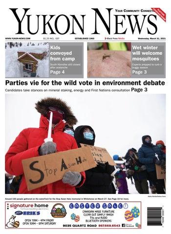 Yukon News, March 31, 2021