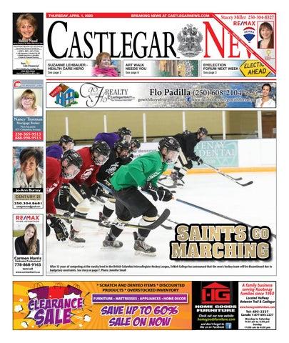 Castlegar News/West Kootenay Advertiser, April 1, 2021