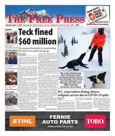 The Free Press, April 1, 2021