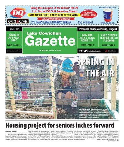 Lake Cowichan Gazette, April 1, 2021