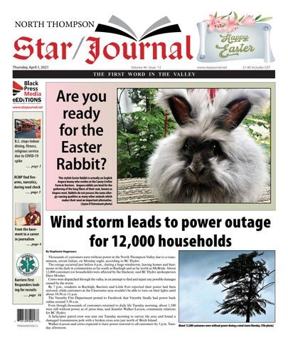 Barriere Star Journal, April 1, 2021