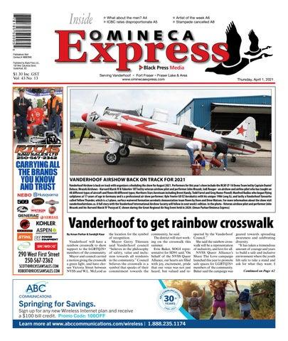 Vanderhoof Omineca Express/Stuart Nechako Advertiser, April 1, 2021
