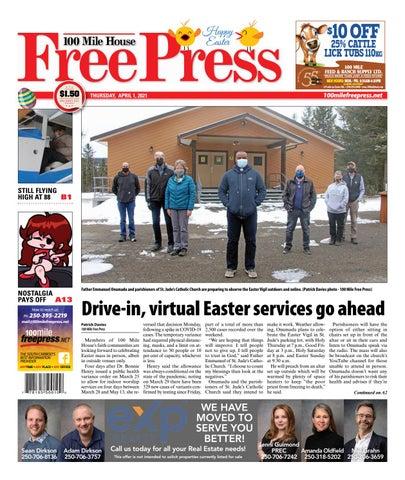 100 Mile House Free Press, April 1, 2021