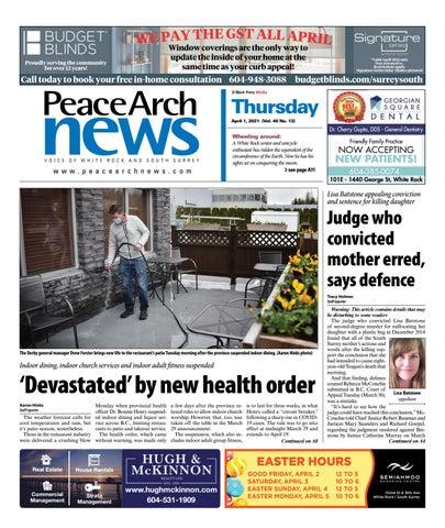 Peace Arch News, April 1, 2021