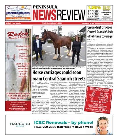 Peninsula News Review, April 1, 2021