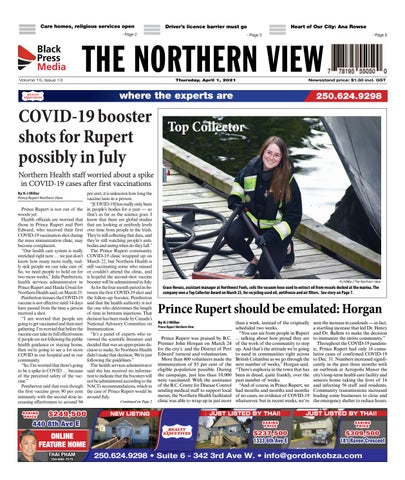 The Northern View/Northern Connector, April 1, 2021