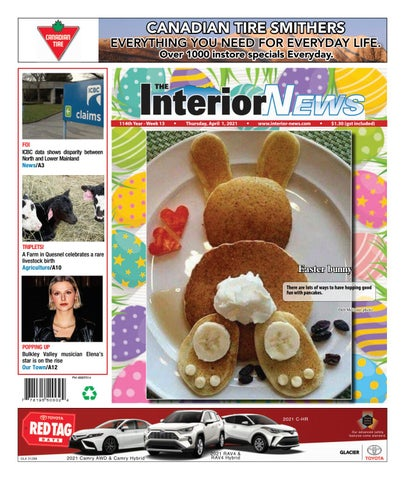 Smithers Interior News, April 1, 2021