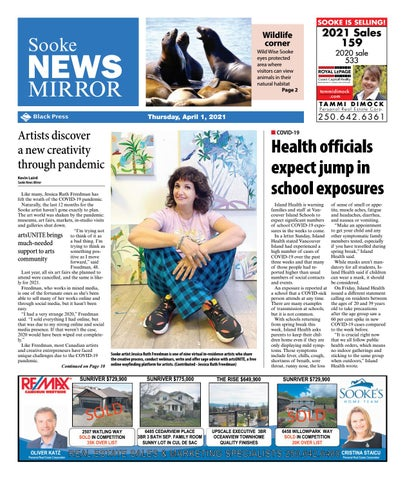 Sooke News Mirror, April 1, 2021