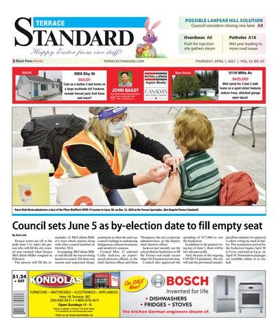 Terrace Standard, April 1, 2021