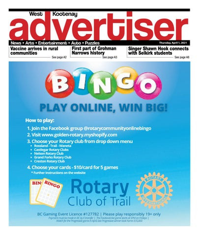 Nelson Star/West Kootenay Advertiser, April 1, 2021