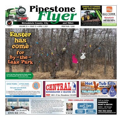 Wetaskiwin/Millet Pipestone Flyer, April 1, 2021