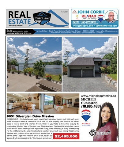 April 02, 2021 Real Estate Weekly - Abbotsford