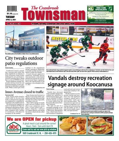 Cranbrook Daily Townsman, April 6, 2021
