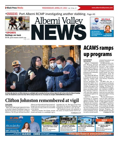 Alberni Valley News, April 7, 2021