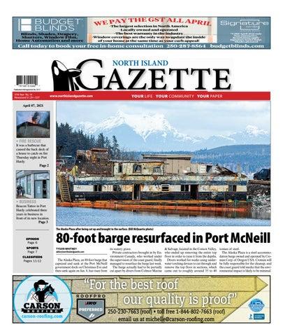 North Island Gazette, April 7, 2021