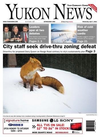 Yukon News, April 7, 2021