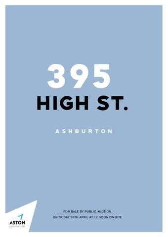 395 High Street, Ashburton