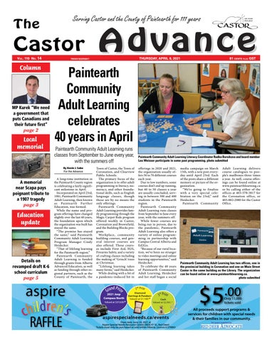 Castor Advance, April 8, 2021