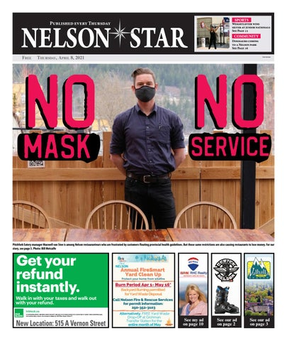 Nelson Star/West Kootenay Advertiser, April 8, 2021