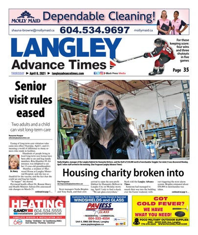 Langley Times, April 8, 2021