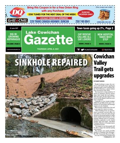 Lake Cowichan Gazette, April 8, 2021