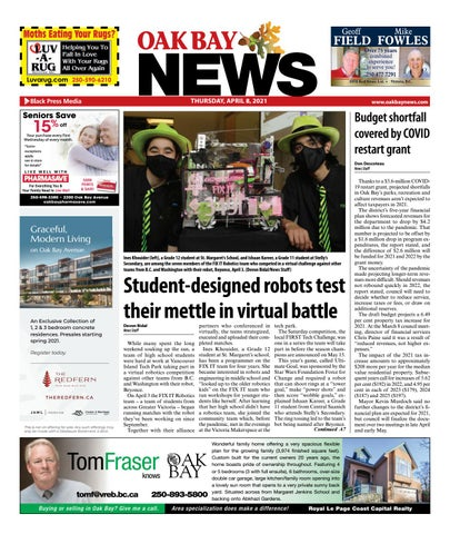 Oak Bay News, April 8, 2021