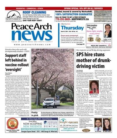 Peace Arch News, April 8, 2021