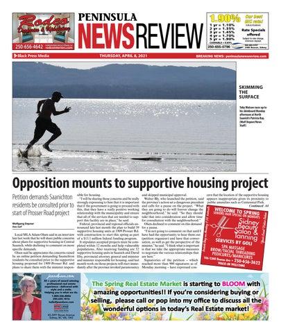Peninsula News Review, April 8, 2021