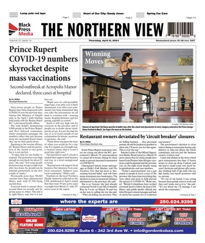 The Northern View/Northern Connector, April 8, 2021