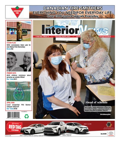Smithers Interior News, April 8, 2021