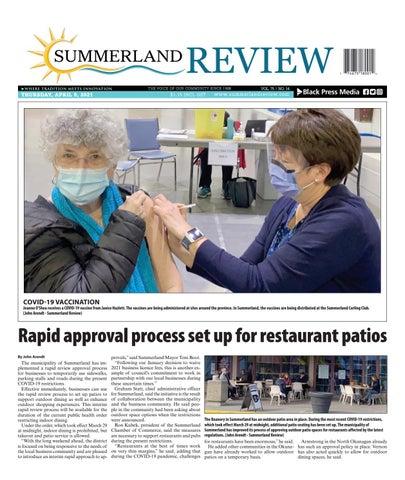 Summerland Review, April 8, 2021