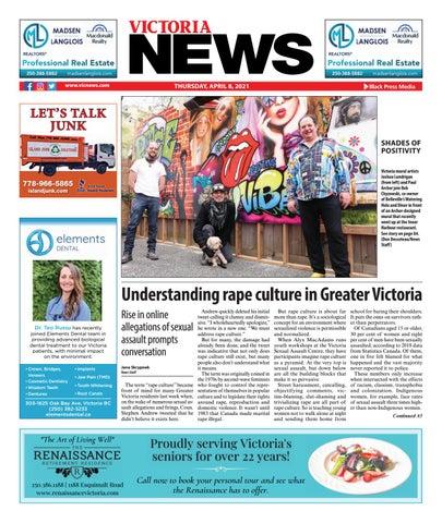 Victoria News, April 8, 2021