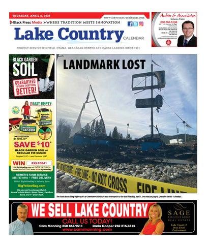 Lake Country Calendar, April 8, 2021