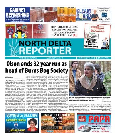 North Delta Reporter, April 8, 2021