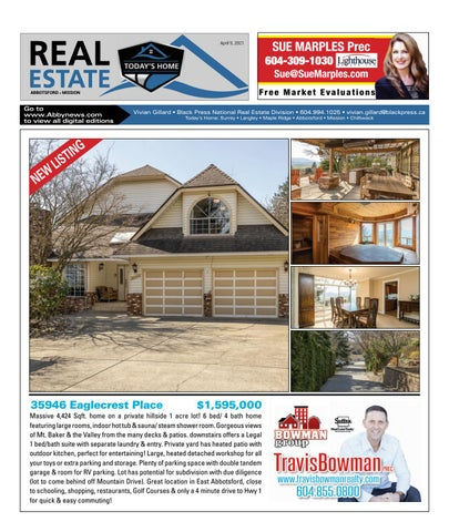 April 09, 2021 Real Estate Weekly - Abbotsford