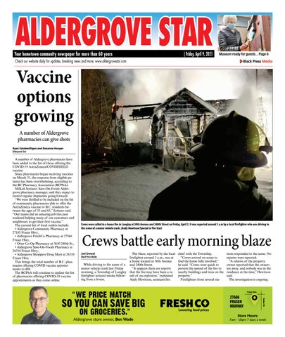 Aldergrove Star, April 9, 2021